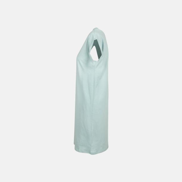 T-shirt klänningar med reklamtryck