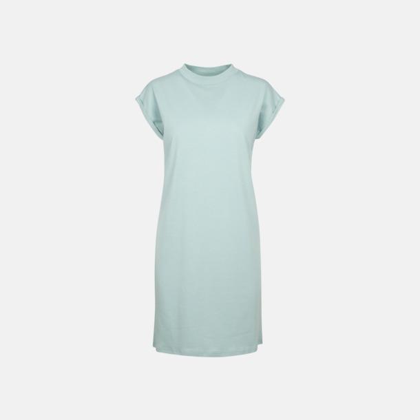 Blue Mint T-shirt klänningar med reklamtryck