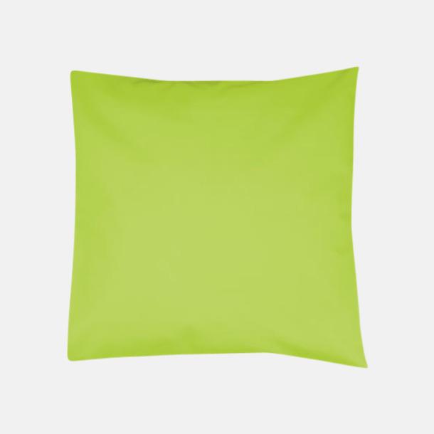 Lime Kuddfodral i massa färger med reklamlogo