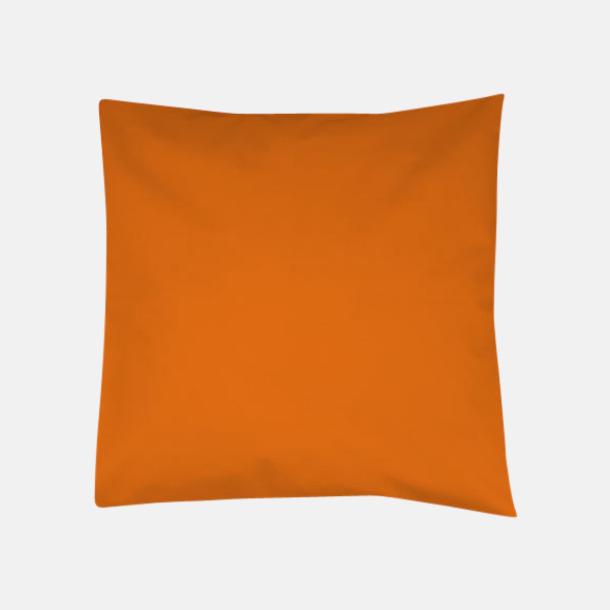 Orange Kuddfodral i massa färger med reklamlogo