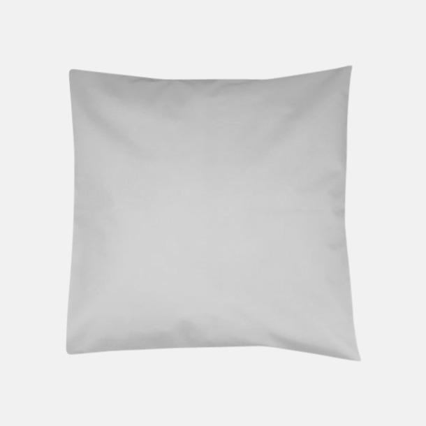 Pale Grey Kuddfodral i massa färger med reklamlogo