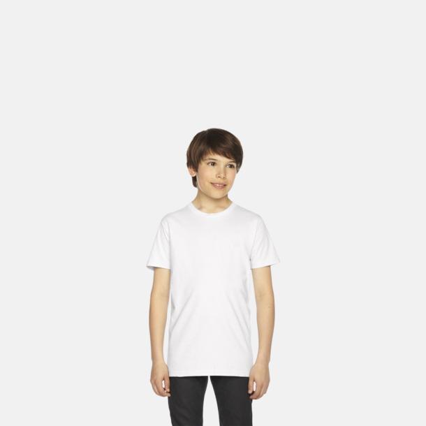 Barn t-shirts med reklamtryck
