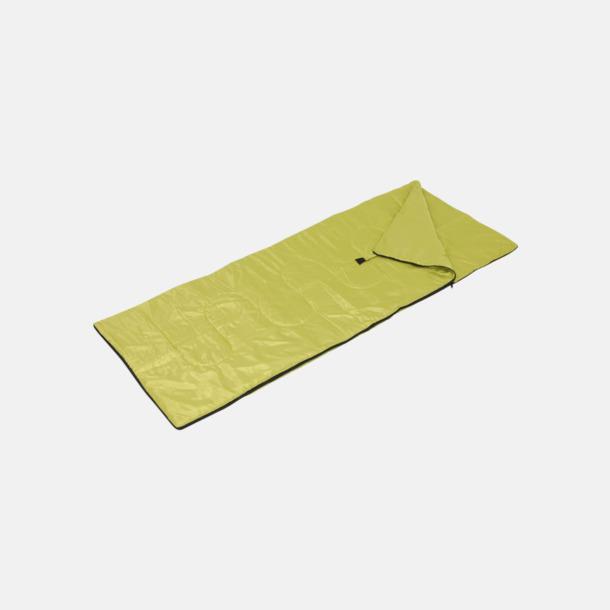 Ljusgrön Sovsäck med reklamtryck