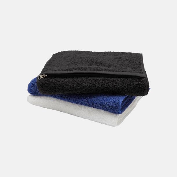 Fickförsedd handduk med reklamlogo