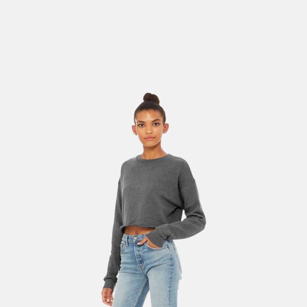 Korta damtröjor med reklamtryck