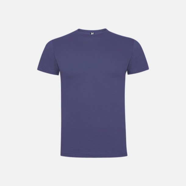 Denim Blue Premium t-shirts med reklamtryck