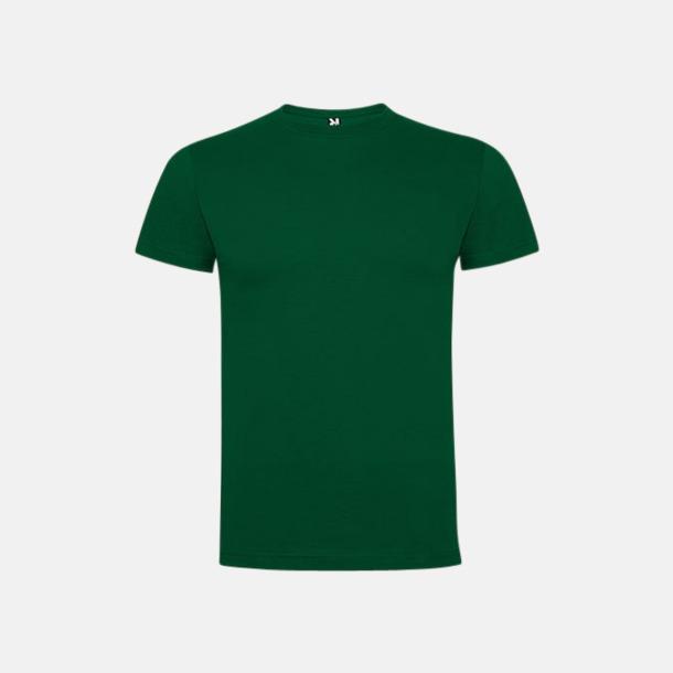 Bottle Green Premium t-shirts med reklamtryck
