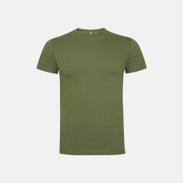 Army Green Premium t-shirts med reklamtryck
