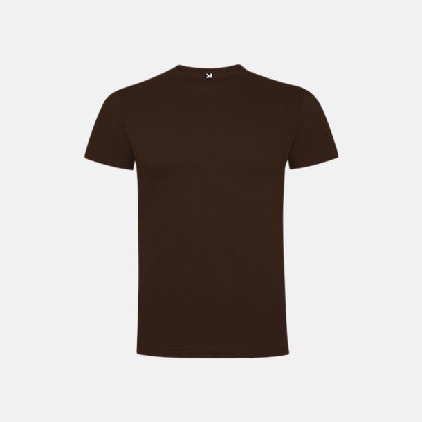 Chocolate Premium t-shirts med reklamtryck