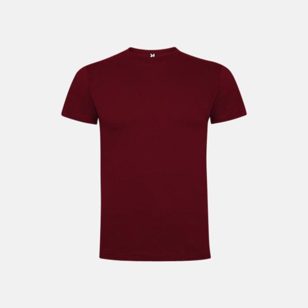 Garnet Red Premium t-shirts med reklamtryck