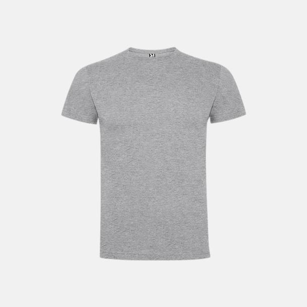Heather Grey Premium t-shirts med reklamtryck