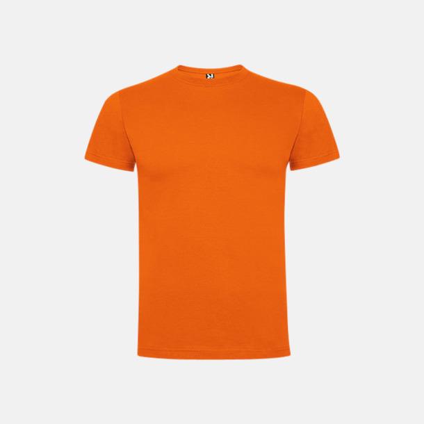 Orange Premium t-shirts med reklamtryck