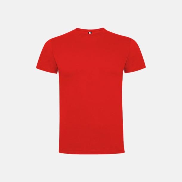 Röd Premium t-shirts med reklamtryck