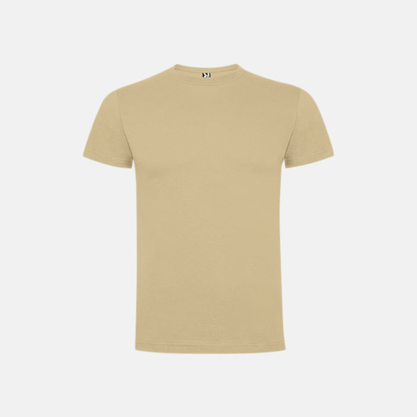 Sand Premium t-shirts med reklamtryck