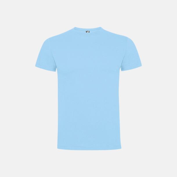 Sky Blue Premium t-shirts med reklamtryck