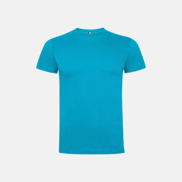 Turkos Premium t-shirts med reklamtryck