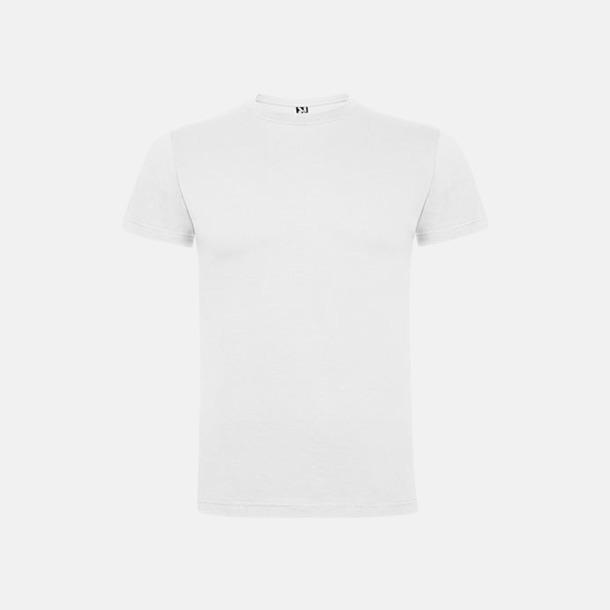 Vit Premium t-shirts med reklamtryck