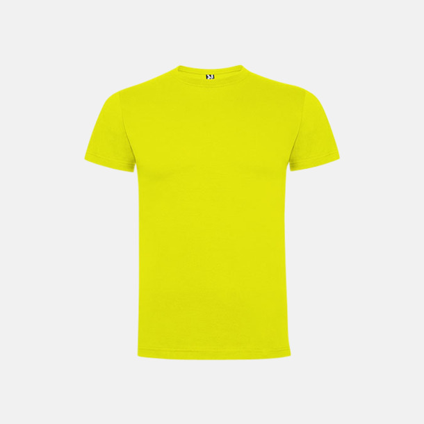 Lime Yellow Premium barn t-shirts med reklamtryck