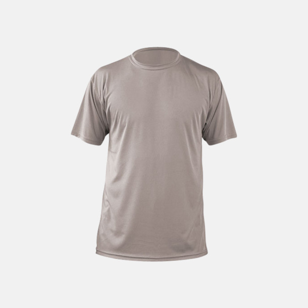 Athletic Grey (herr) Fina sport t-shirts med reklamtryck