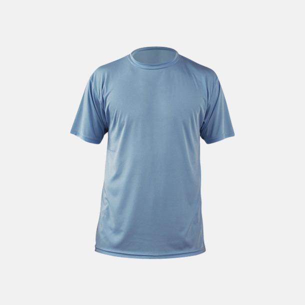 Columbia Blue (herr) Fina sport t-shirts med reklamtryck