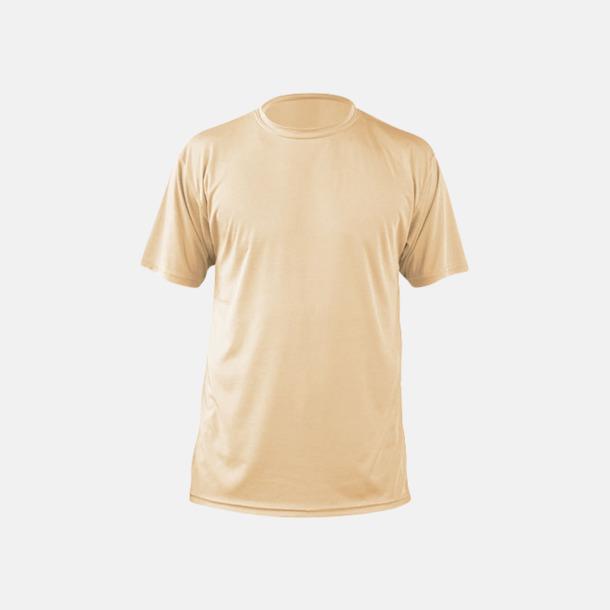 Vegas Gold (herr) Fina sport t-shirts med reklamtryck