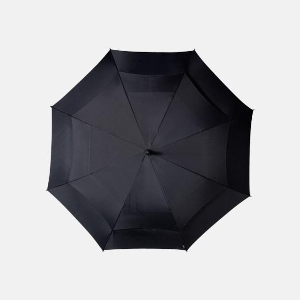Stormsäkra paraplyer med eget reklamtryck