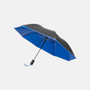 Tvåfärgade kompaktparaplyer med reklamtryck