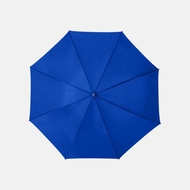 Royal Enfärgade eller randiga golfparaplyer med reklamtryck