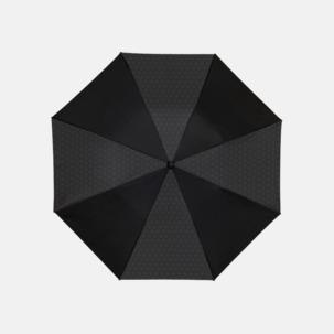 2-sektionsparaplyer med reklamtryck