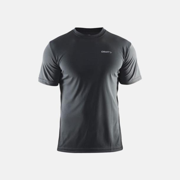 Iron (herr) Funktion t-shirts från Craft med reklamtryck