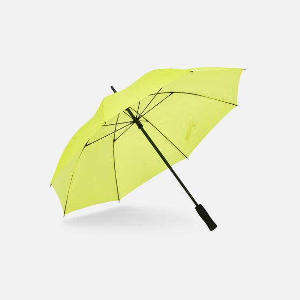 Neon Extra synliga paraplyer med reklamtryck