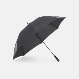Golfparaplyer i återvunnet material med reklamtryck