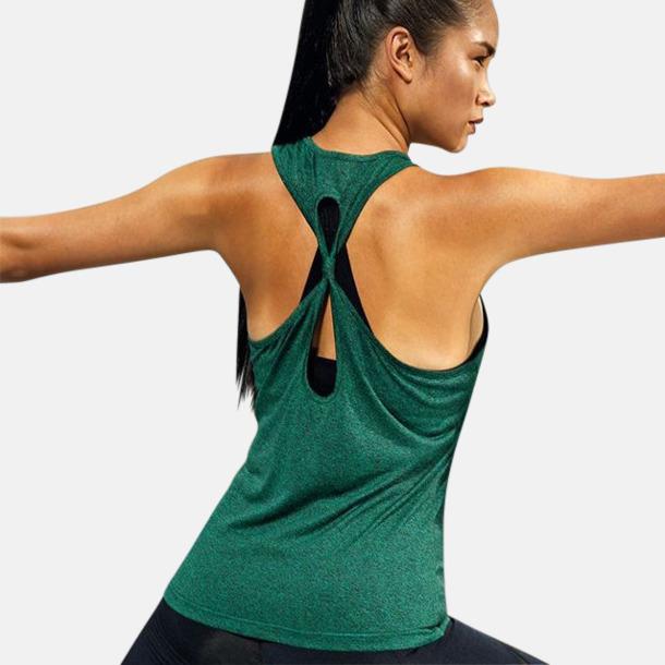 Yogalinnen med knut på baksidan - med reklamtryck