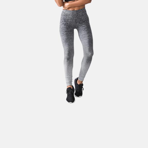 Sömlösa leggings med reklamtryck