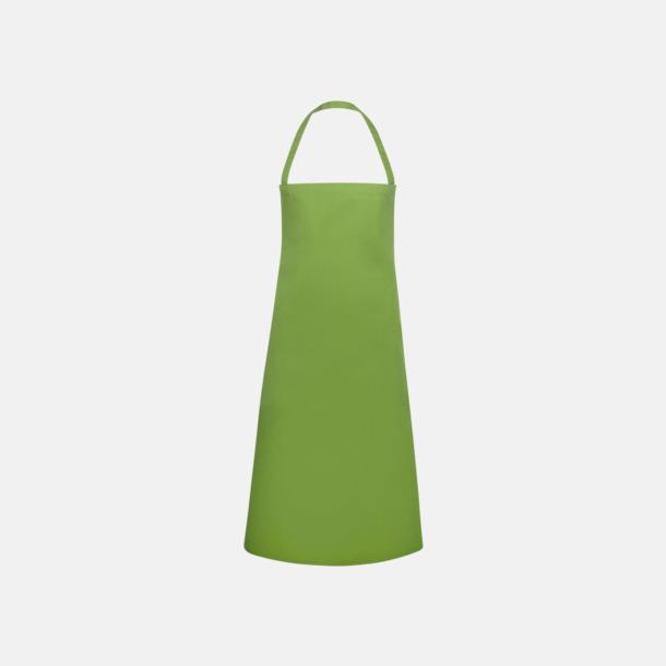Ljusgrön Prisvärda förkläden med reklamtryck