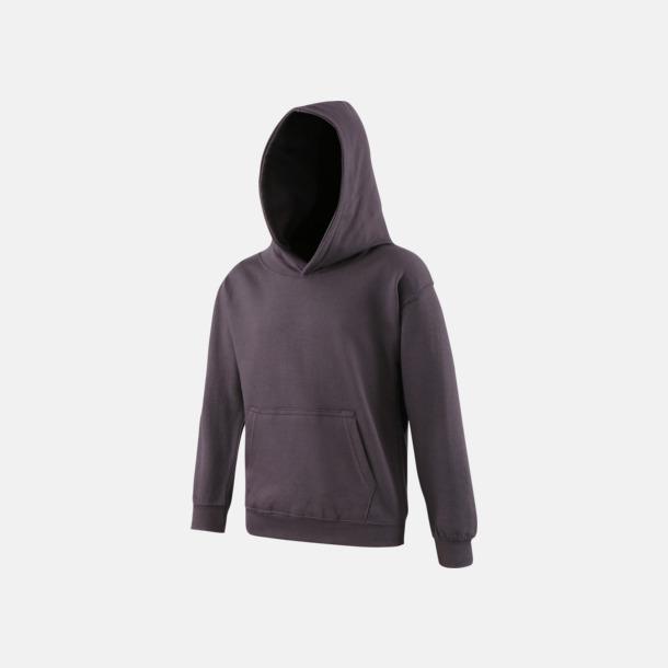Storm Grey (solid) Huvtröjor för barn i många färger - med reklamtryck