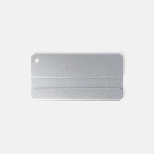 Bagagebrickor i aluminium med tryck eller gravyr