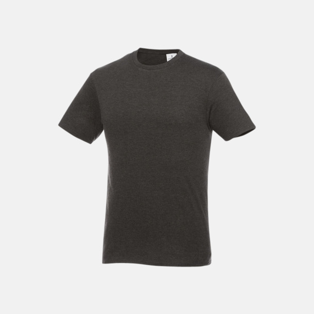 Heather Charcoal T-shirts med supersnabb leverans med reklamtryck!