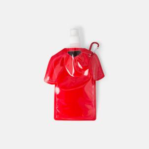 Sportiga, vikbara vattenflaskor med reklamtryck
