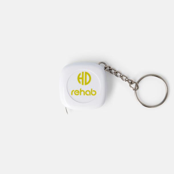 Med reklamlogo Nyckelring med 1-meters måttband