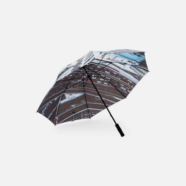 Digitaltryck (enkelt lager) Golfparaplyer med eget digitaltryck