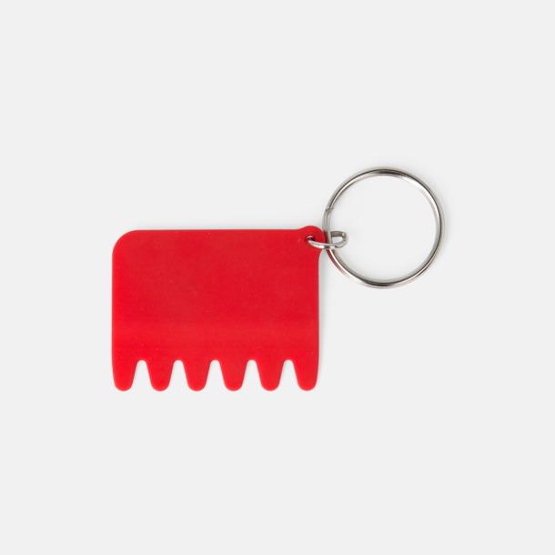 Röd Silikontangentborstar med reklamtryck