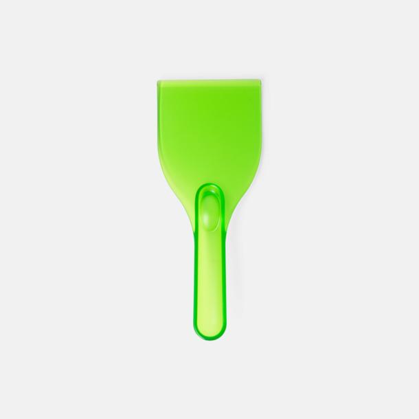 Limegrön Grappvänliga isskrapor med eget tryck