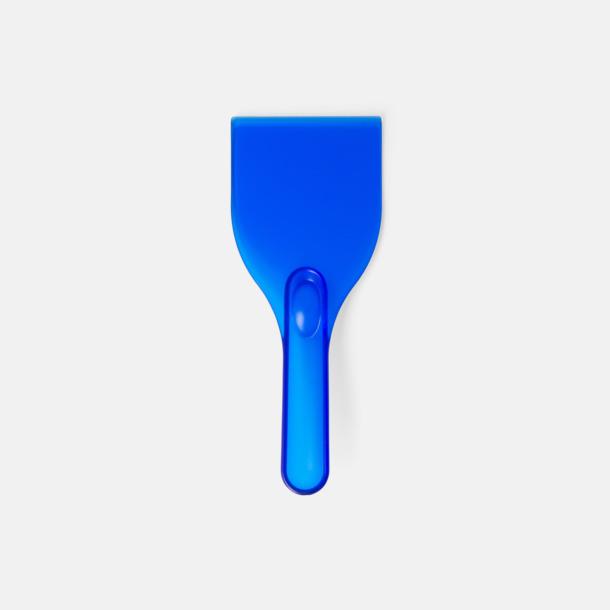 Blå Grappvänliga isskrapor med eget tryck