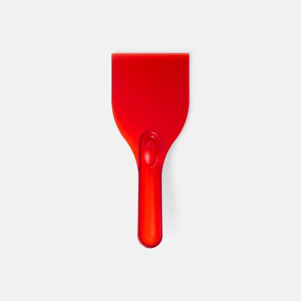 Röd Grappvänliga isskrapor med eget tryck