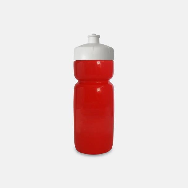 Röd Populära vattenflaskor i bioplast med reklamtryck