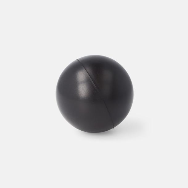 Svart Trycka stressbollar - Stressbollar med tryck