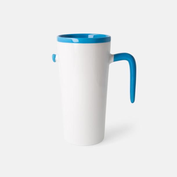 Ljusblå Porslinsmuggar med eget tryck