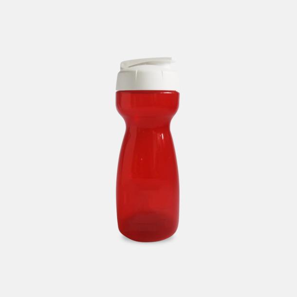 Röd 55 cl vattenflaskor med reklamtryck