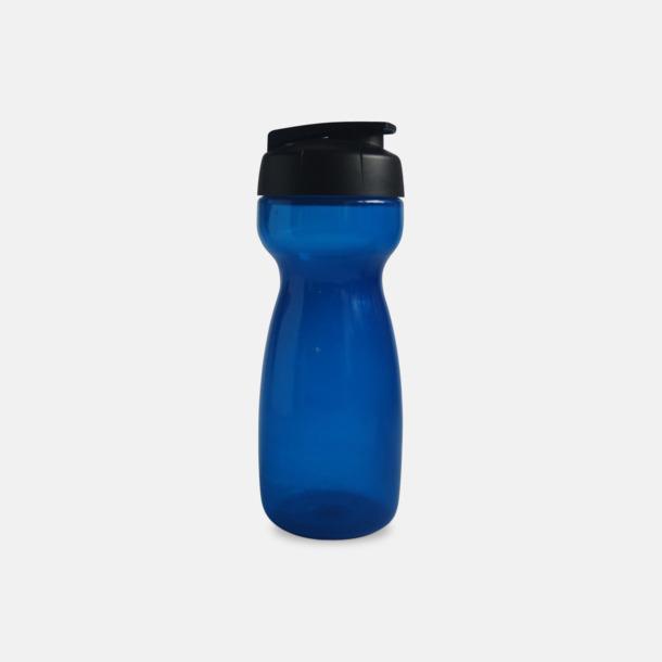 Blå 55 cl vattenflaskor med reklamtryck